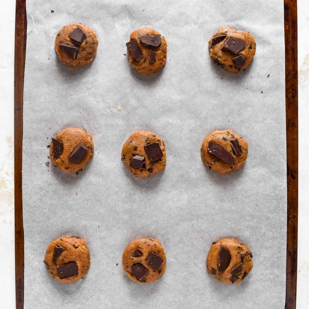 Paleo Chocolate Chip Cookies Process Photo 5