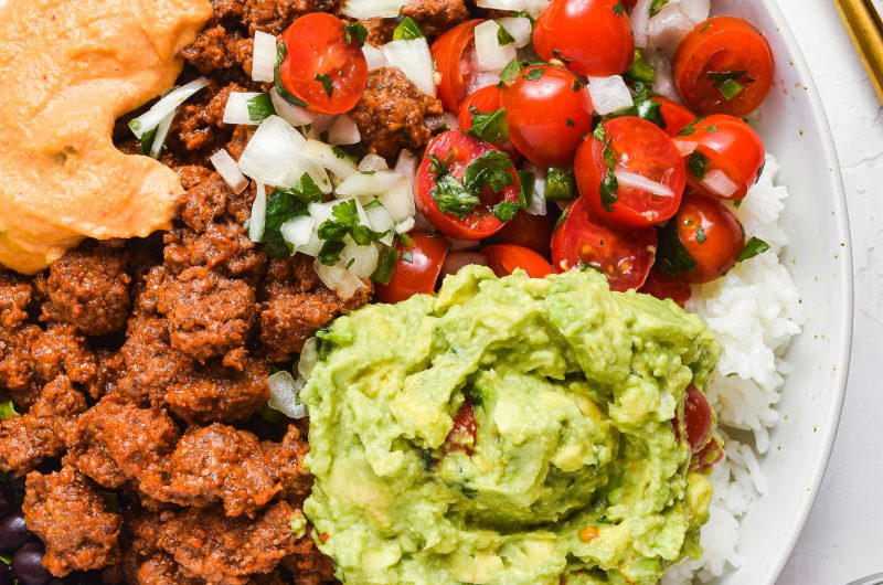 Burrito Bowls (GF/DF)