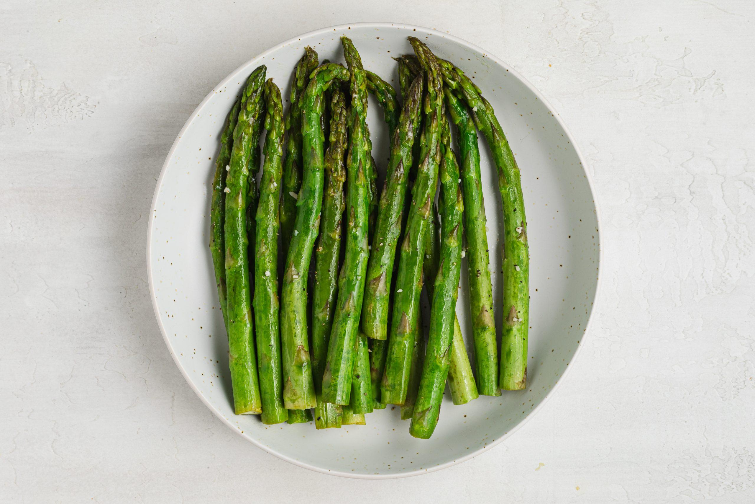sous vide asparagus process photo 3