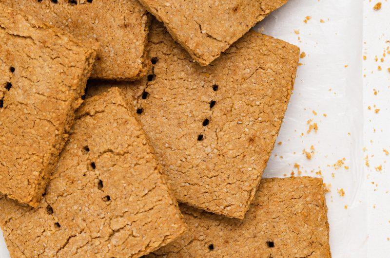 Vegan Graham Crackers (gluten-free)