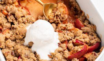 Apple Crisp Without Oats Recipe