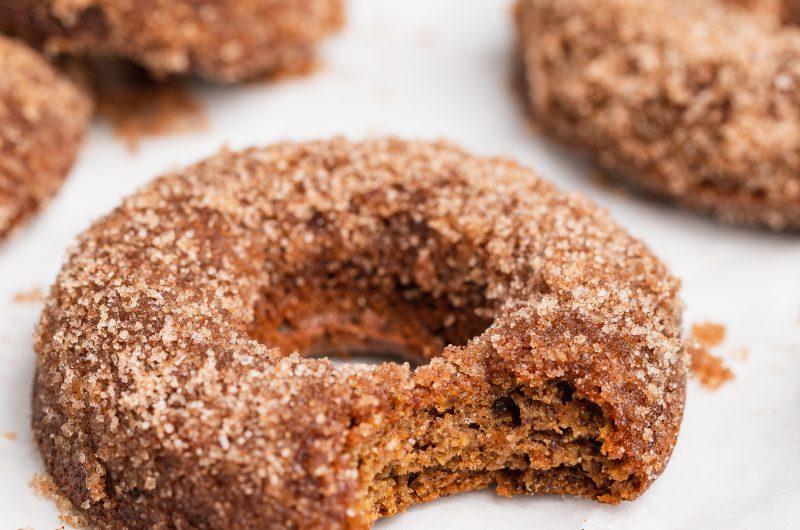 Baked Vegan Apple Cider Donuts (Gluten-Free)