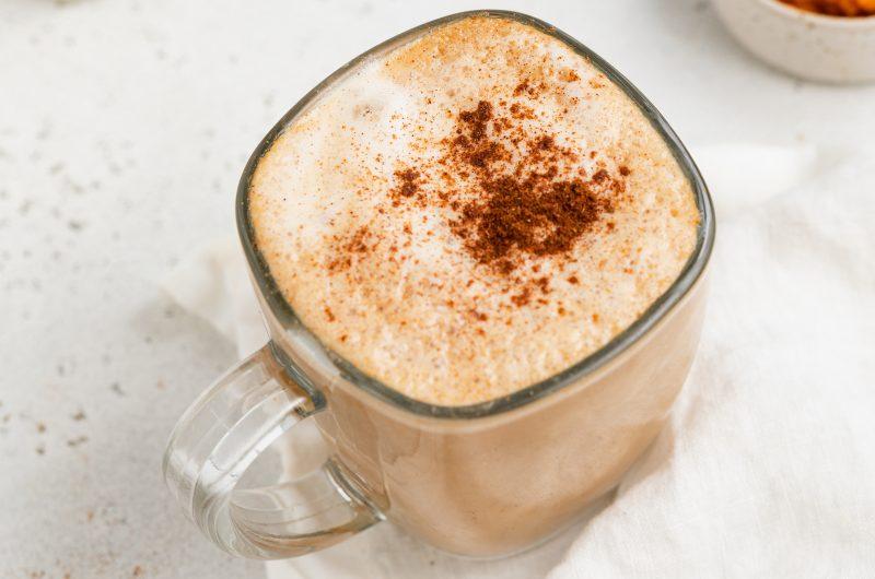 Pumpkin Spice Latte (Vegan, Refined Sugar-Free)