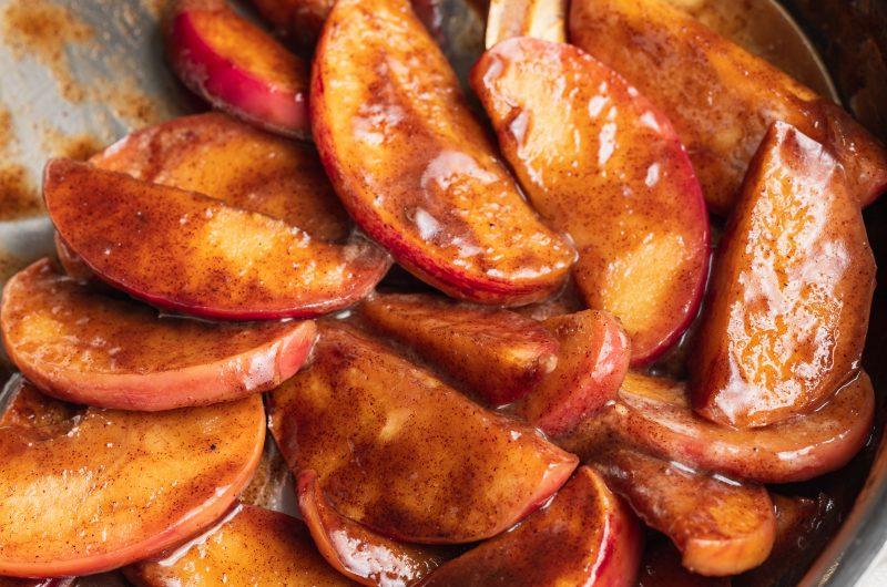 Caramelized Apples (Vegan & Refined Sugar Free)